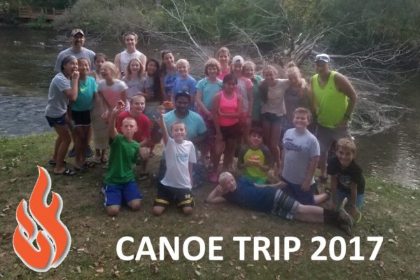 Enfuego group canoe trip 2017