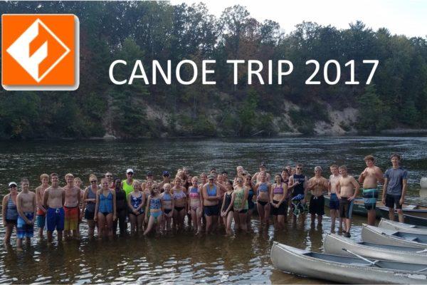 Fusion Canoe trip 2017
